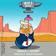 ببینید: ترامپ در نیم متری مرگ!
