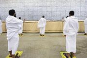 ببینید | شیوع کرونا و مراسم حج؛ مسلمانان با سنگ استریل شده شیطان را هدف گرفتند