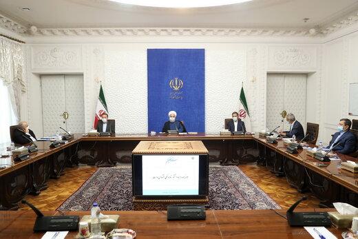 الرئيس روحاني : نحن قادرون على الانتصار في الحرب الاقتصادية التي يشنها العدو