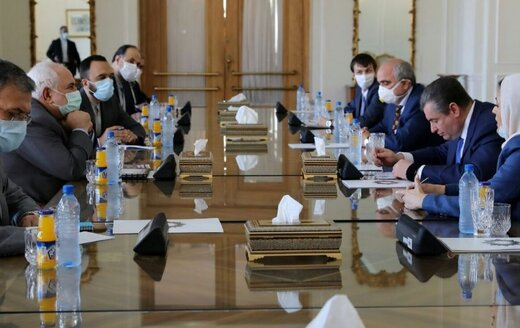 FM Zarif urges updating long-term cooperation document of Iran, Russia