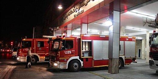 آتشسوزی در بیمارستان «دی»
