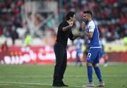 فرهاد مجیدی از بازیکنانش شاکی است/عکس