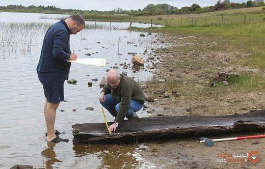 پسربچه ایرلندی بازیگوش، یک قایق ۴۰۰۰ ساله را کشف کرد!