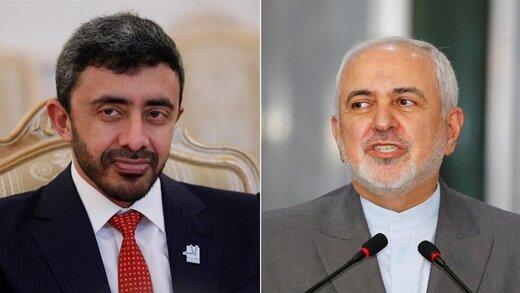 الجزیره گفتگوی ظریف با وزیر خارجه امارات را کمسابقه خواند