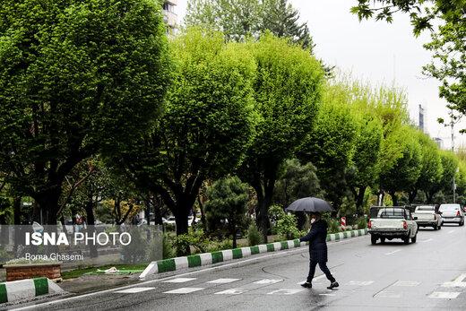 بارش باران هم هوای پایتخت را «پاک» نکرد