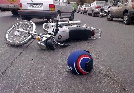 بیشترین حجم تصادفات در قم مربوط به موتورسواران است