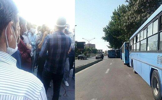 ماجرای اعتصاب رانندگان اتوبوسهای ارومیه چیست؟