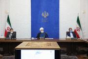 روحانی:دو جریانتحریف وتحریم بدنبال توقفحرکت اقتصادی کشور است