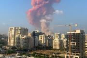 ببینید | قدرت تخریب موج انفجار در بیروت