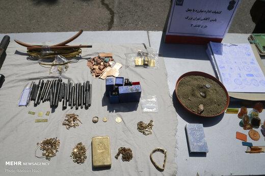 نمایشگاه کشفیات طرح کاشف پلیس آگاهی