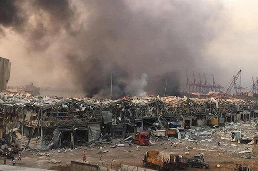 ببینید | تصاویری از حجم عظیم خرابیهای گسترده در بیروت پس از انفجار مهیب امروز