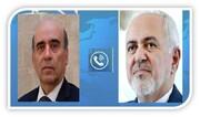 ظریف پیام همدردی ایران را به ملت لبنان ابلاغ کرد