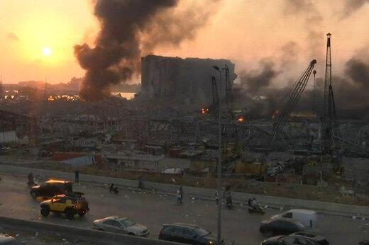 پرواز کرکسهای سعودی در آسمان غم زده بیروت