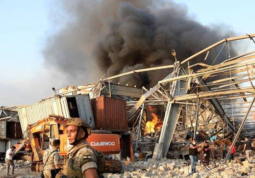 بیانیه پمپئو در واکنش به انفجارهای مهیب در بیروت