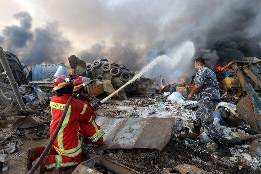 حجم خسارت انفجار بیروت اعلام شد