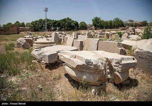 معبد آناهیتا در کرمانشاه