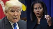 میشل اوباما: به خاطر اقدامات ترامپ افسرده شدم
