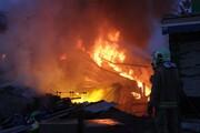 جزئیاتی از حادثه دیشب در صالح آباد تهران؛ فروریزی ساختمان، انفجار شدید گاز و آتشسوزی شدید