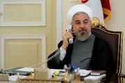 گفتگوی مهم روحانی و رئیس جمهور لبنان درباره انفجار بزرگ بیروت