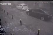 ببینید | لحظه انفجار بیروت از نگاه دوربین مداربسته