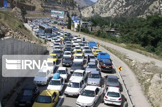 آخرین وضعیت اعمال محدودیتهای ترددی در سه جاده شمالی کشور