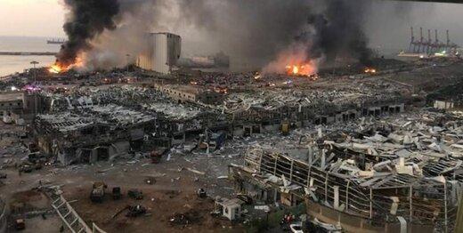 مسدود شدن حساب بانکی متهمان ارتباط با انفجار بیروت
