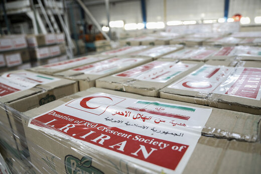 Iran's 1st aid cargo in Beirut to help affected Lebanese people