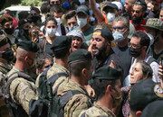 اولین تظاهرات ضددولتی پس از انفجار بیروت/معترضان و نیروهای امنیتی زخمی شدند