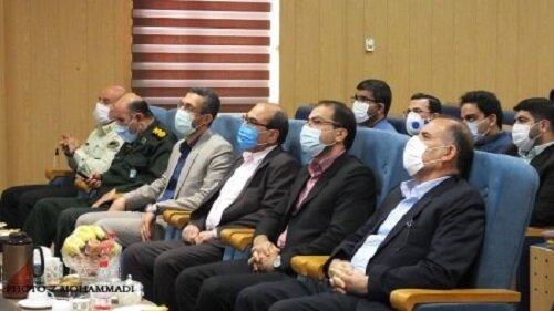 آیین تکریم رئیس دادگستری شهرستان گچساران برگزار شد