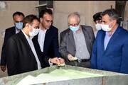 """افتتاح طرح توسعه شرکت """"شمس جاوید اروند"""" در ادامه نهضت جهش تولید در سرزمین فتح"""