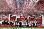 ببینید | جشن قهرمانی پرسپولیسیها در استادیوم خالی آزادی