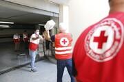 هلال احمر ایران ۱۵ تُن مواد غذایی به صلیب سرخ لبنان تحویل داد