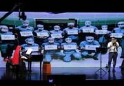 ایرانیها و اتریشیها برای احترام به کادر درمان، دست بهساز شدند