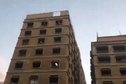ببینید | تصاویری از تصرف ساختمان وزارت اقتصاد لبنان
