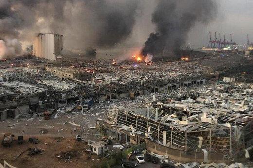 ببینید   تصاویری وحشتناک از بیمارستان بیروت لحظه وقوع انفجار مهیب