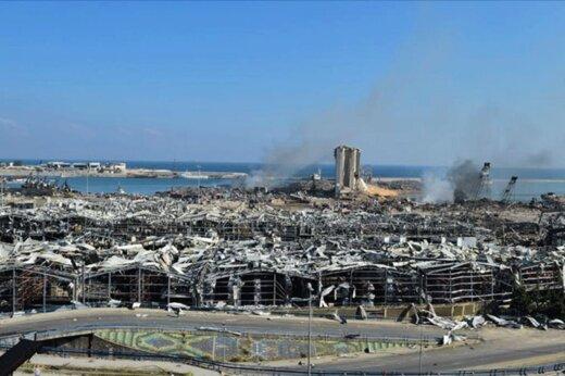 ببینید | این حادثه در انفجار لبنان باعث مرگ همسر سفیر هلند شد[حاوی تصاویر ناگوار]
