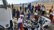 رئیس پلیس راه همدان: مرگ دلخراش ۶ سرنشین پراید زیر چرخ های تریلی