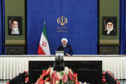 President Rouhani opens two development projects in west of Iran