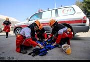 هلال احمر در ۴ روز گذشته ۳۸۵ ماموریت امدادی برای ۵۲۵ حادثه دیده داشت