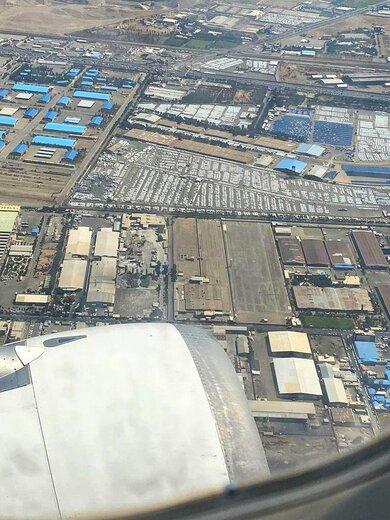 جدیدترین تصاویر هوایی از پارکینگ ایرانخودرو