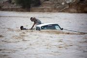 ببینید | تصاویری از سیلاب در یمن