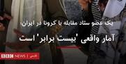گافهای پشت سر هم BBC فارسی/ این بار نقل قول از عضو ساختگی ستاد ملی مقابله با کرونا!