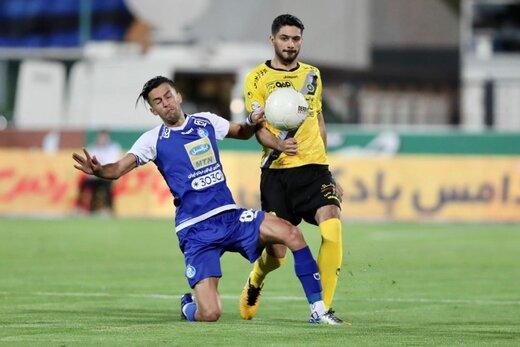 بازی استقلال و سپاهان هم تماشاگر داشت!/عکس