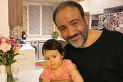 ببینید | آموزش حرکات ورزشی توسط مهران غفوریان به دخترش هانا