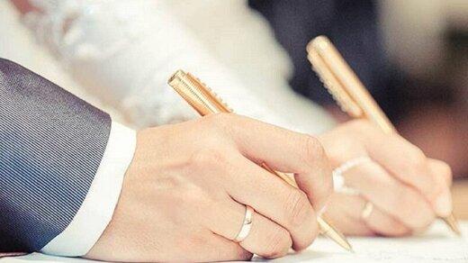اقدام زیبای عروس و داماد مشهدی در روزهای کرونایی