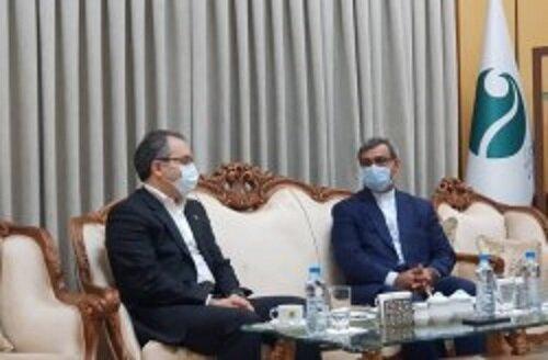 پرداخت خسارت مجتمع تجاری پردیس یک توسط شرکت ایران معین