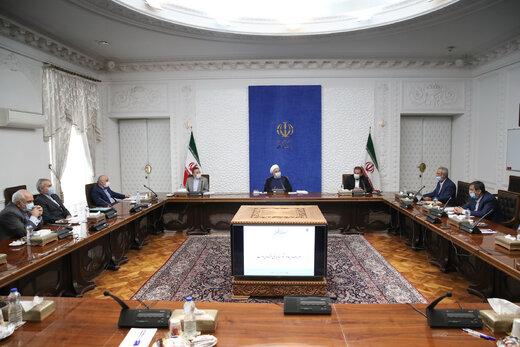 خبر مهم روحانی از تصویب طرح فروش داخلی نفتدر جلسه سران قوا