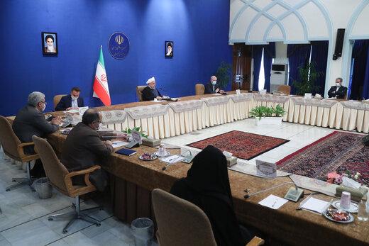 روحانی:گام مهمی برای تولید واکسن کرونا در ایران برداشته شده است