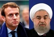 روحانی به مکرون:پیشنهاد جدیدآمریکامخالف قطعنامه شورای امنیت است