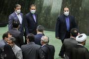 ببینید | حواشی جلسه رای اعتماد وزیر صمت